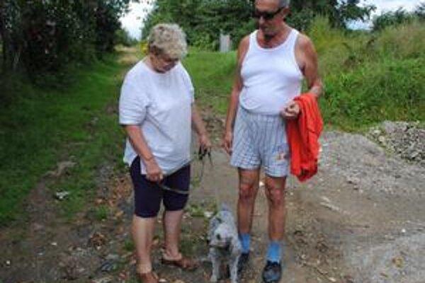Koniec Gaštanovej. Tu pod lesík chodieva pán Anton s manželkou na zdravotné prechádzky. Vraví, že by ich nenapadlo, že od lesa by k nim mohol pribehnúť veľký pes. Pani Barbara vraví, že by to rozrušilo zdravého človeka, nie to ešte jej muža po operácii sr