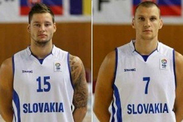 Zľava Marek Jašš a Tomáš Mrviš.