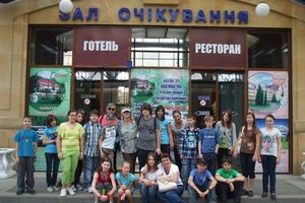 Na návšteve Užhorodu. Deti si odtiaľ priniesli nevšedné zážitky.