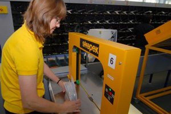 Zamestnancov Slovenskej pošty má onedlho ubudnúť. Ďalšie prepúšťanie sa nateraz neplánuje.