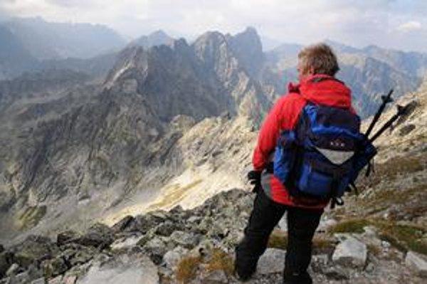 Vysoké Tatry sú obľúbené miesto miesto dlhodobej dovolenky obyvateľov Slovenska.