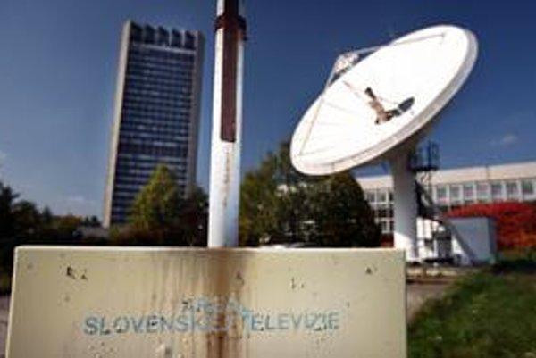 Budovy STV v Mlynskej doline sú nemoderné a chátrajú.