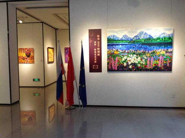 Výstava Jaroslava Šuleka.