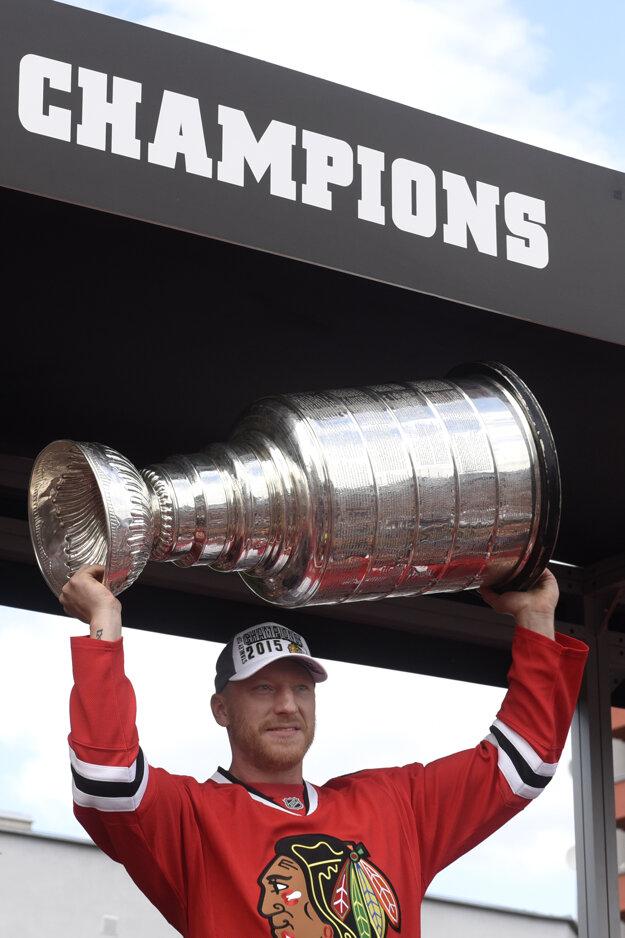 Marián Hossa získal počas svojej úspešnej kariéry aj prestížny Stanley Cup.
