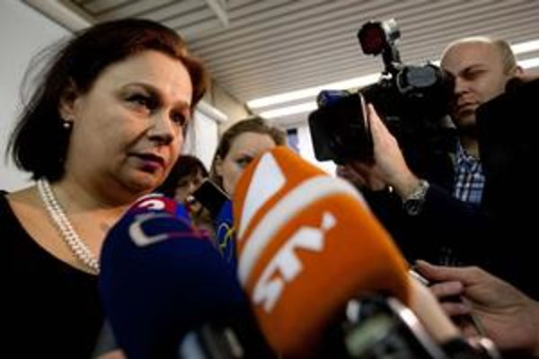 Dočasná riaditeľka RTVS Miloslava Zemková.