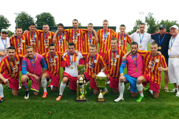 Pred rokom triumfovali na Mitropa Cupe futbalisti Galanty.