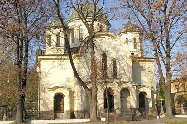 Chrám zoslania Svätého Ducha na Masarykovej ulici.