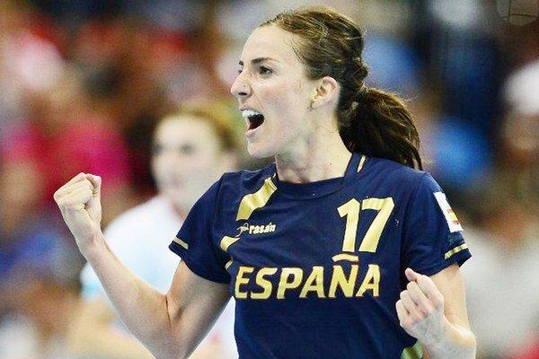 Hviezda španielskeho celku. Vicemajsterka Európy za rok 2014 Elisabeth Pinedo.