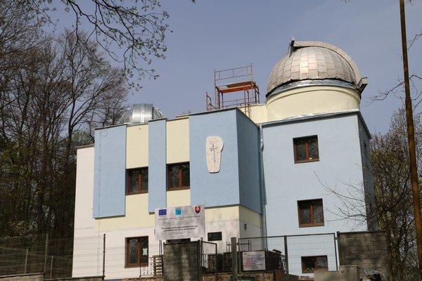 Hvezdáreň v Michalovciach. Po otvorení budú pre návštevníkov kdispozícii nové azaujímavé služby.