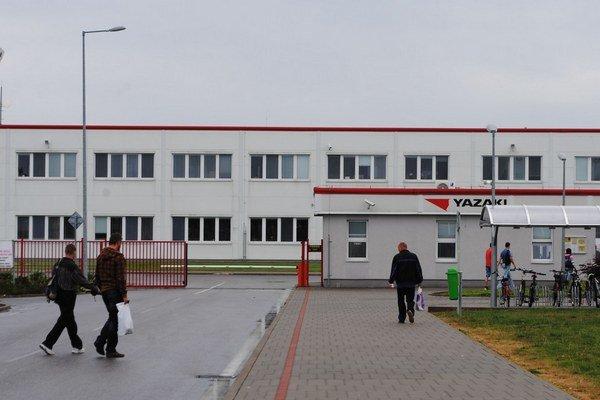 Michalovská fabrika Yazaki.