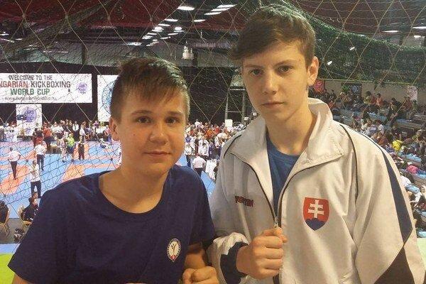 Karol Svobodník (vľavo) aMarko Babuka.