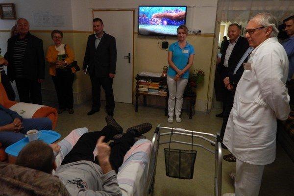 Výjazdové zasadnutie zdravotníckej komisie KSK. V najvýchodnejšej nemocnici vbezprostrednej blízkosti hraníc sUkrajinou.