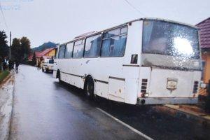 Autobus krátko po nehode, jeho vodiča po siedmich rokoch oslobodili.