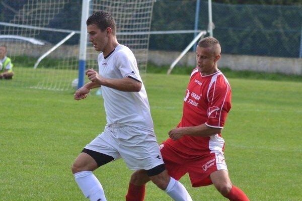 Dal najviac gólov tímu. Ján Hutaj (vľavo) sa presadil desaťkrát.