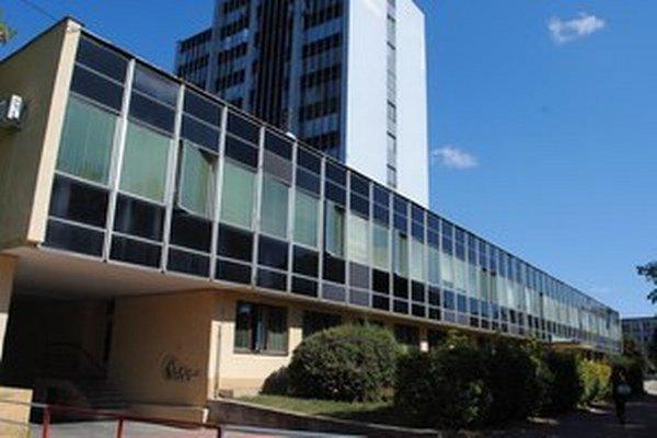 Budova súdu v Michalovciach.