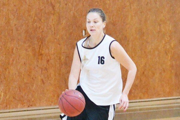 Zuzana Andrejčíková. Patrila medzi opory ženského tímu 1. BKD.
