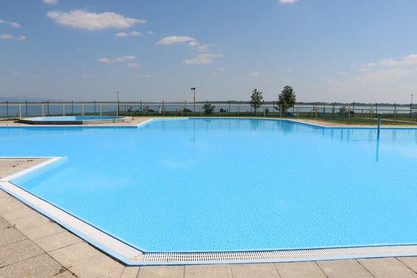 Bazény na Kaluži. Prví rekreanti sa v nich budú môcť okúpať od 14. júna.