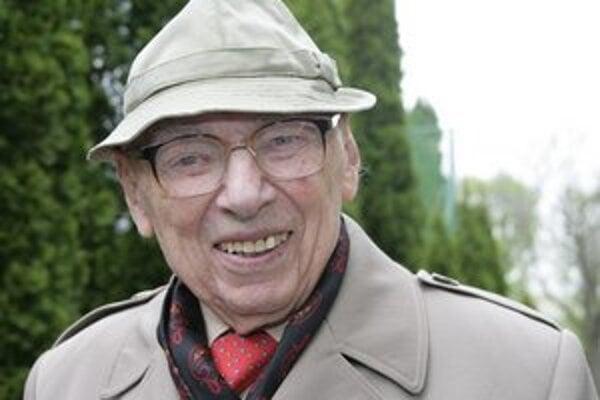 Mikuláš Spiegel. Jeho mama, otec aj dve sestry zomreli v koncentračných táboroch. Veterán z II. svetovej vojny zomrel pred pár týždňami.