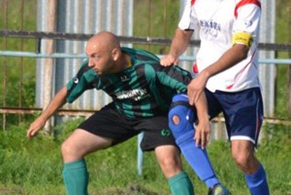 Kapitán Milan Kovalík. V jari patril k najskúsenejším hráčom Palína.