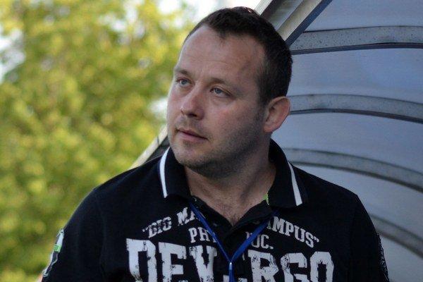 Tréner Albert Rusnák. Zostáva v michalovskom klube.