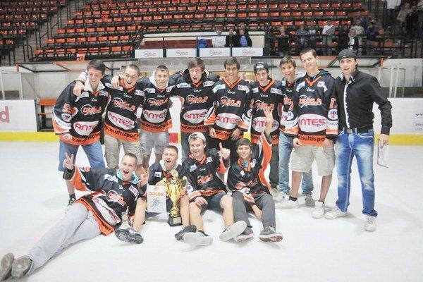 Víťazný pohár zostal doma. Na Fann Sport Cupe triumfovali juniori Michaloviec.