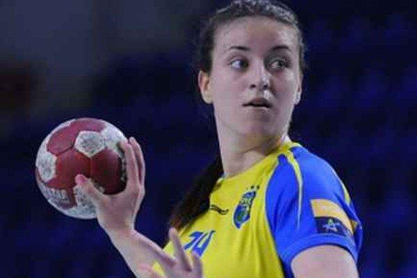 Mária Olšovská. Na sereďskej pôde strelila päť gólov.