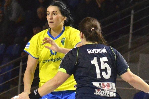 Marianna Rebičová. Jedna z hráčok Iuventy, ktorá je v nominácii na Fínsko.