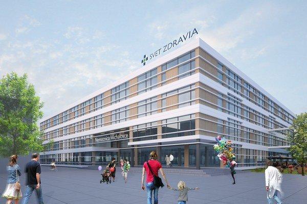 Michalovská nemocnica. Návratnosť 34-miliónovej investície odhaduje Penta do 10 rokov.