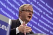 Eurokomisár Olli Rehn.