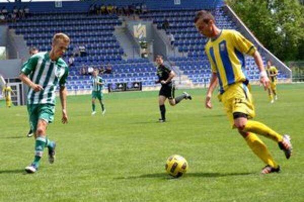 Starší dorastenci doma nebodovali. S derby s Prešovom prehrali po slabom výkone 0:2.