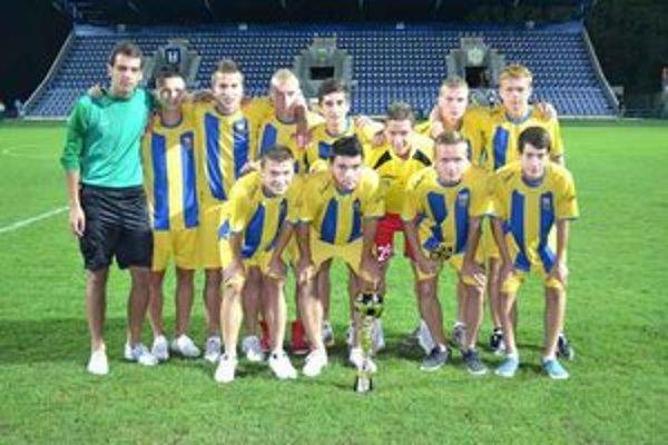 Družstvo MFK Zemplín Michalovce. Na turnaji obsadilo výborné druhé miesto.