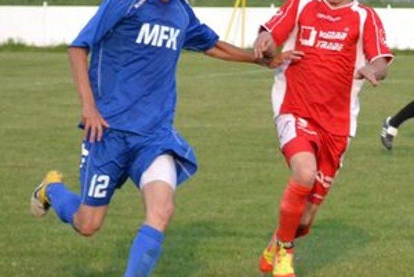 Strelecky sa mu darí. Tibor Szabó (vľavo) vsietil už šesť gólov.