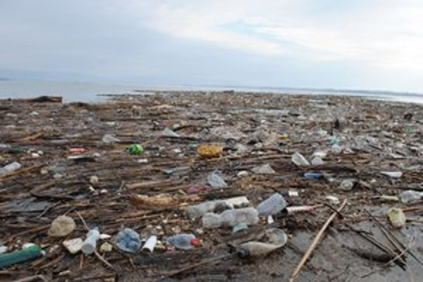Samé odpadky. Rekreačné stredisko Prímestská oblasť zaplavili plastové fľaše a iné smeti.
