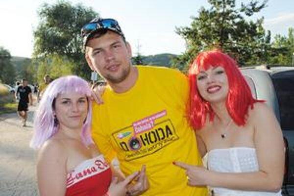 Stanka, Martin a Zuzka. Trojica priateľov prišla na Šíravu zo Sadov nad Torysou, kde len pred niekoľkými týždňami zažili povodeň.