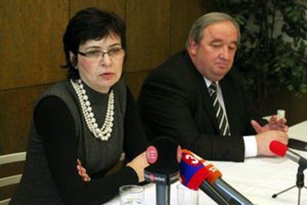 Brífing ministerky spravodlivosti Lucie Žitňanskej a predsedu Krajského súdu v Košiciach Imricha Volkaiho.