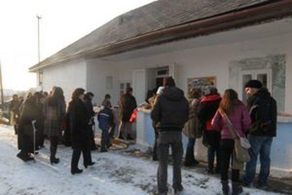 Bežovská chiža. Slávnostné otvorenie malého múzea.