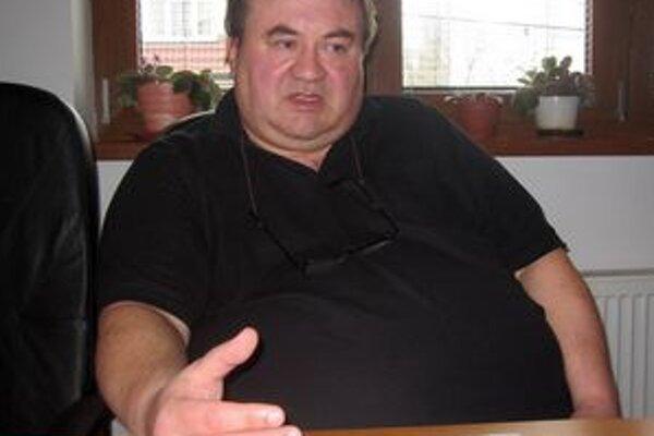 Prezident klubu Milan Mráz.