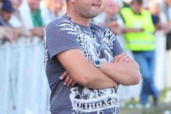Tréner Štefan Brezo. Veľké Kapušany už trénujú na novú sezónu.