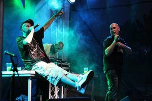 Easthetic festival 2011. Zoskupenie Moja Reč zastupovalo na festivale hip-hopovú scénu.