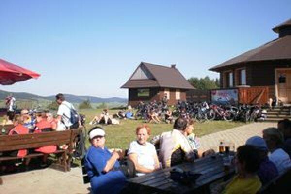 Zraz cykloturistov. Zúčastnili sa ho aj Zemplínčania.
