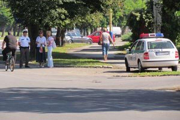 Policajti nerozdávali pokuty. Namiesto toho mohli vodiči prispieť do zbierky.