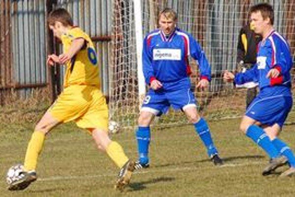 Prehrali rozdielom triedy. Sobrance napriek sympatickému prejavu prehrali v derby 0:3.