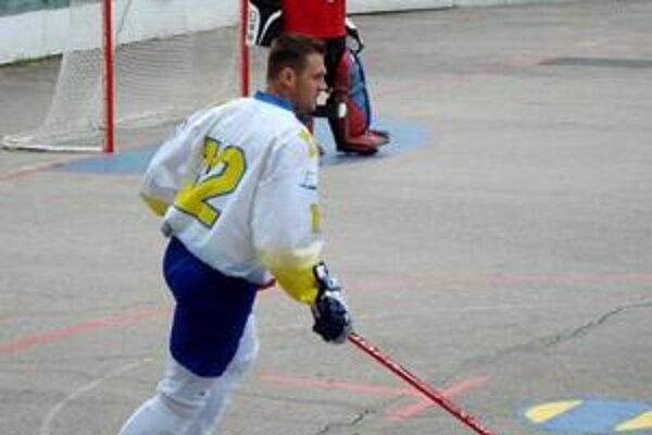 Bez opory. Michalovce sa na turnaji predstavia bez svojho centra Juraja Minčáka (na snímke).