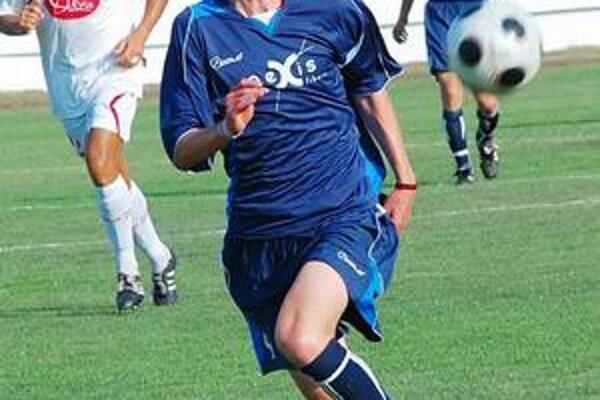 Michal Hamuľák. Autor prvého humenského gólu v sezóne.