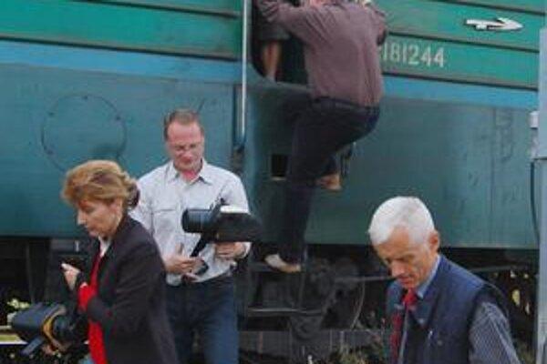 Merania. Zúčastnili sa ich experti zo Slovenska a Ukrajiny.