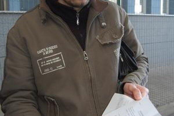 Nespokojný vodič. Musel som zaplatiť 65 eur, hovorí Milan Rákoši.