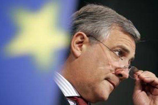 Doterajší predseda europarlamentu Antonio Tajani by vo funkcii rád pokračoval