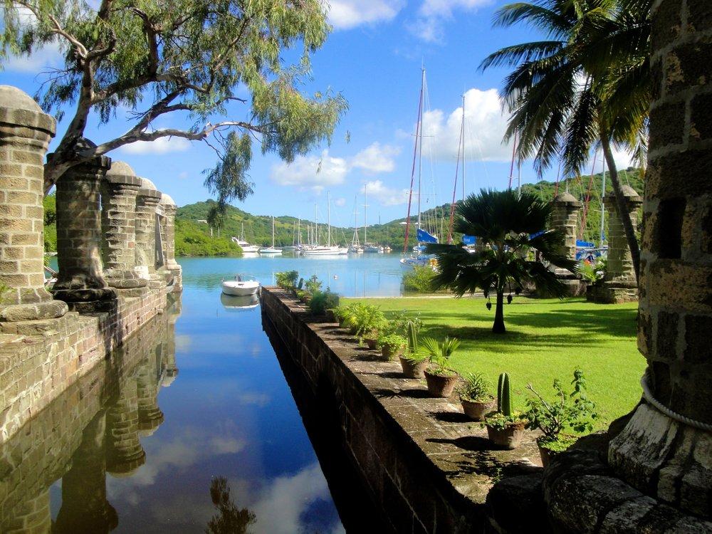 Georgiánske lodenice a archeologické nálezisko, Antigua a Barbuda