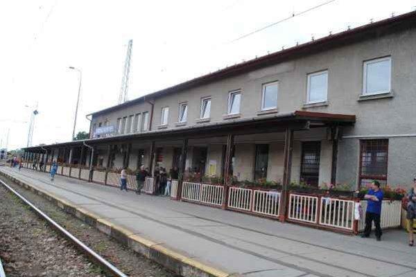 Železničná stanica v Spišskej Novej Vsi. Má svoje najkrajšie roky za sebou.