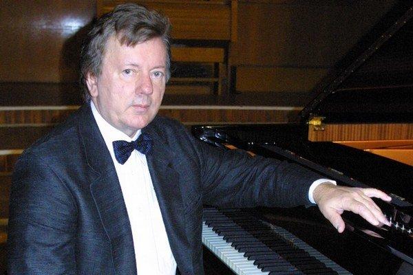 Riaditeľ festivalu. Marián Lapšanský zahrá až posledný deň.
